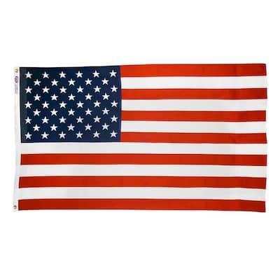 3 ft. x 5 ft. Cotton U.S. Flag