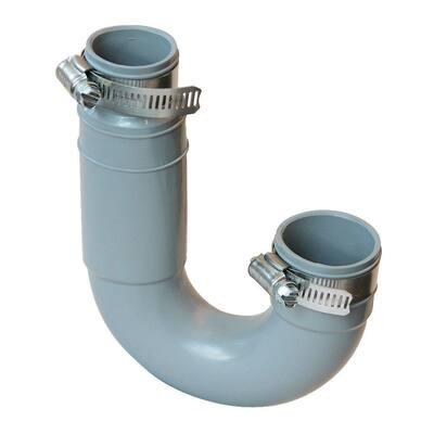 1-1/2 in. x 1-1/4 in. PVC Drain Trap