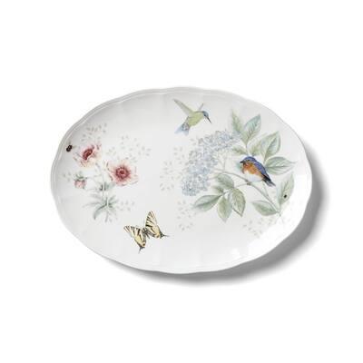 BM Flutter Oval Platter