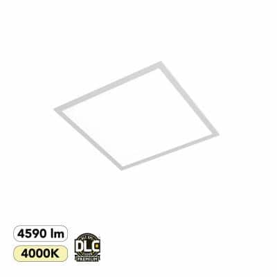 2 ft. x 2 ft. 300-Watt Equivalent White Integrated LED Backlit Troffer, 4590 Lumens, 4000K Bright White