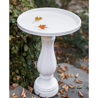 Promo Bird Bath in White
