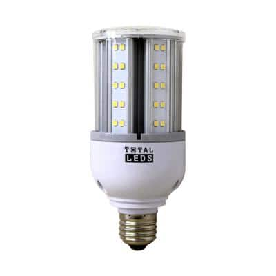 80-Watt Equivalent White E26 Corn Lamp Bulb Non Dimmable with IP64 Rating LED Light Bulb in Bright White