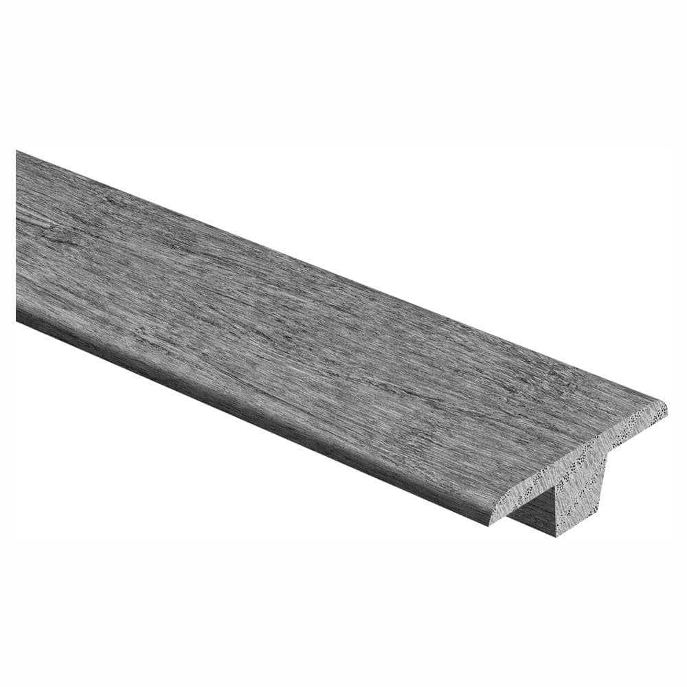 Zamma Unfinished White Oak 3 8 In Thick X 1 3 4 In Wide X 94 In Length Hardwood T Molding 014004022768 The Home Depot