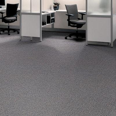 Strategic Fit Platinum Loop 19.7 in. x 19.7 in. Carpet Tile (20 Tiles/Case)