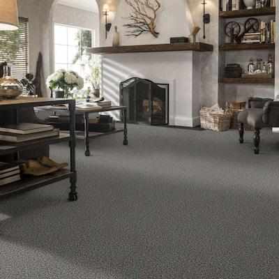 Bonanza I - Color Ash Fog Twist 15 ft. Carpet