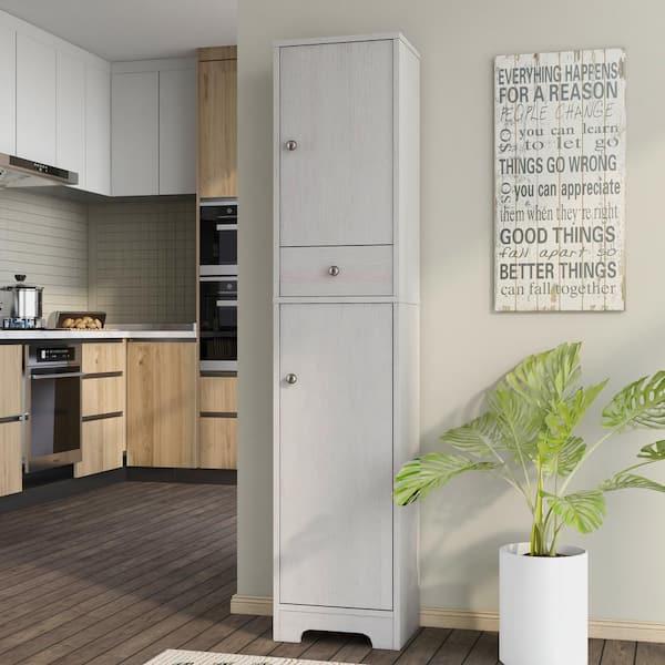 Furniture Of America Harlan White Oak, White Oak Kitchen Cabinets Home Depot