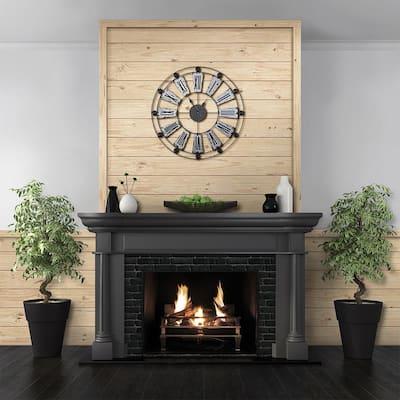 1 in. x 4 in. x 8 ft. Barn Wood Pine Trim Board (4-Pack)
