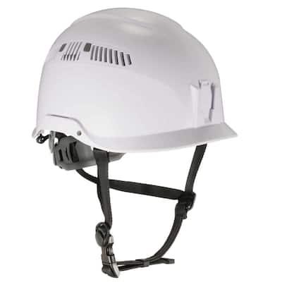 Skullerz White Class C Safety Helmet