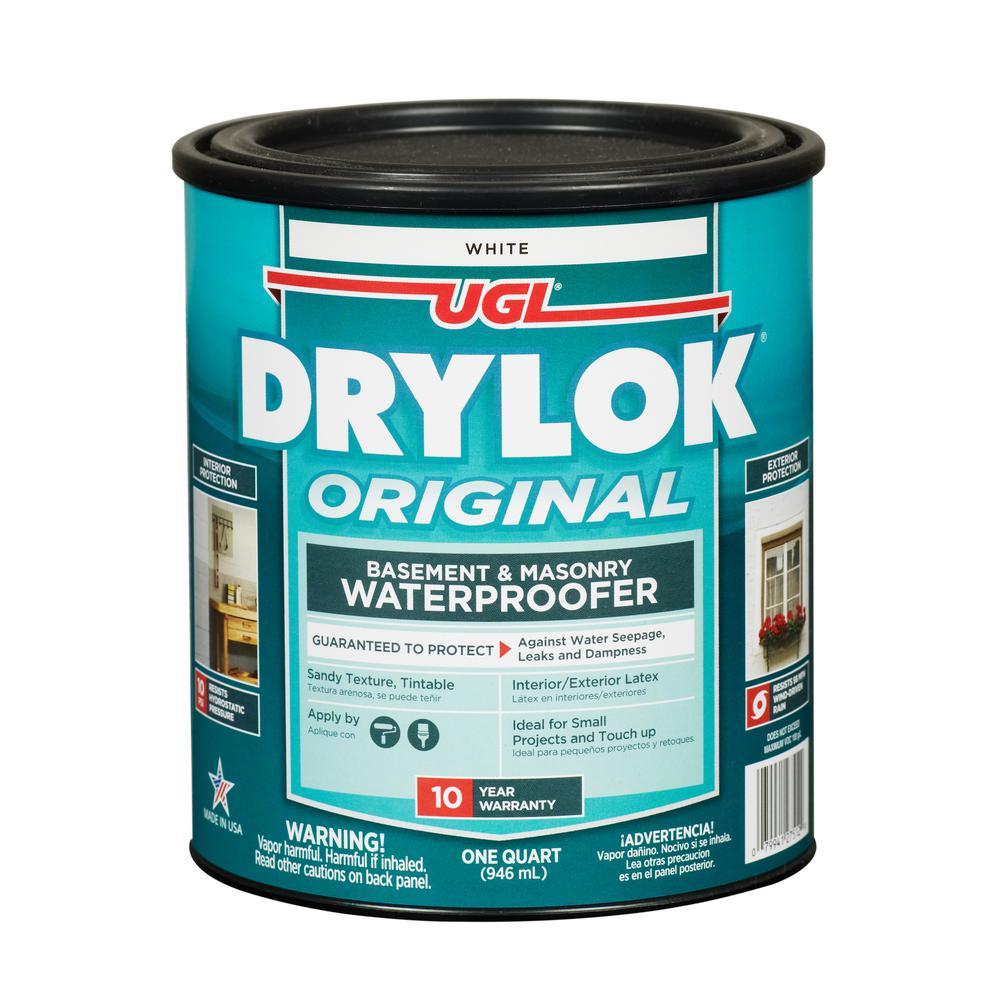 Original 1 qt. White Flat Latex Interior/Exerior Masonry Waterproofer