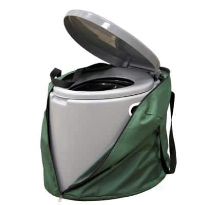 Portable Travel Toilet For Camping and Hiking with Travel Bag  Non-Electric Waterless Toilet