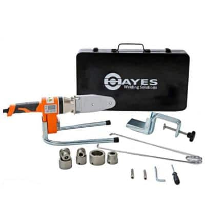 Hayes Digital Socket Fusion Pipe Welder Tool Kit PRO (up to 1 in.)
