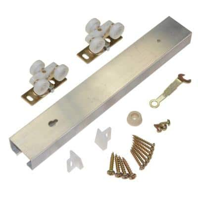 100PD Series 72 in. Pocket Door Track and Hardware Set