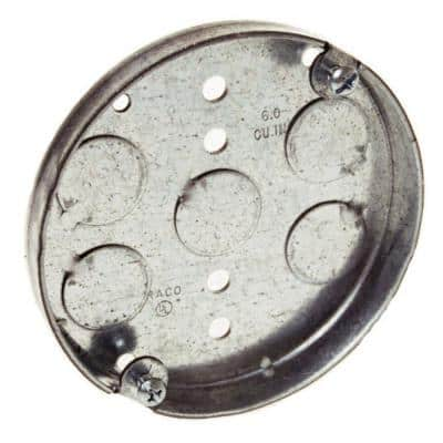 Round Electrical Ceiling Pan