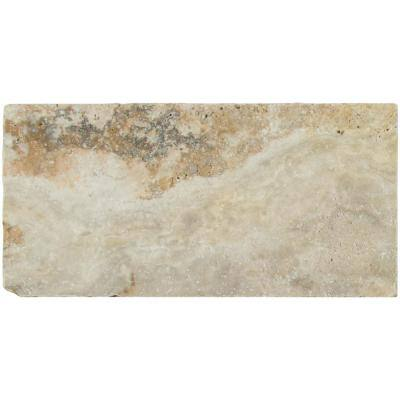 Porcini 16 in. x 24 in. Gold Travertine Paver Tile (60 Pieces/160.2 Sq. Ft./Pallet)