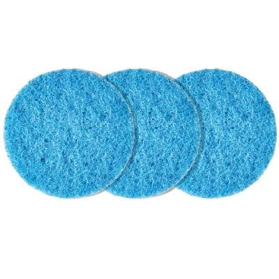 Versa Power Cleaner Non-Scratch Replacement Pad (3-Pack)