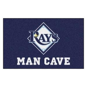 MLB - Tampa Bay Rays Man Cave UltiMat 5 ft. x 8 ft. Indoor Area Rug