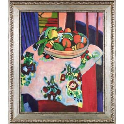 """""""Still Life with Oranges with Versailles Silver King Frame """" by Henri Matisse Oil Painting"""