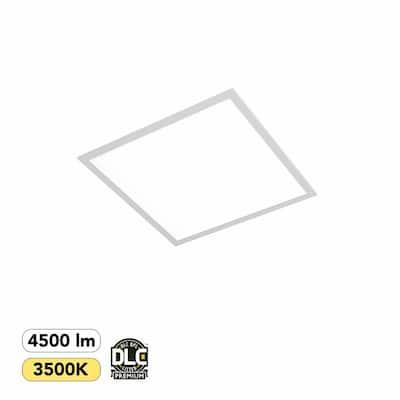 2 ft. x 2 ft. 300-Watt Equivalent White Integrated LED Backlit Troffer, 4500 Lumens, 3500K Warm White