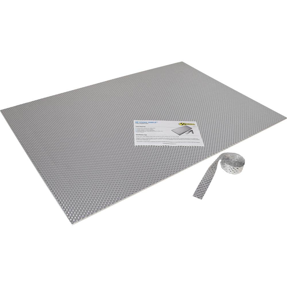 Heatshield Products Sticky Shield Kitchen Kit Stick On Heat Shield 23 In X 33 In Sheet Size Rated At 1100 F H180201 The Home Depot