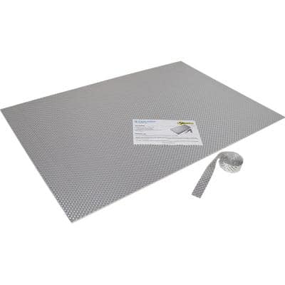 Sticky Shield Kitchen Kit – Stick on Heat Shield - 23 in. x 33 in. Sheet Size rated at 1100°F