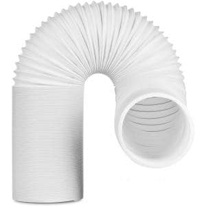 5.9 in. 6.5 ft. Insulated Flexible Exhaust Hose for Portable Air Conditioner