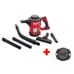 M18 18-Volt Cordless Lithium-Ion Compact Vacuum with Free ONE-KEY Tick Tool and Equipment Tracker