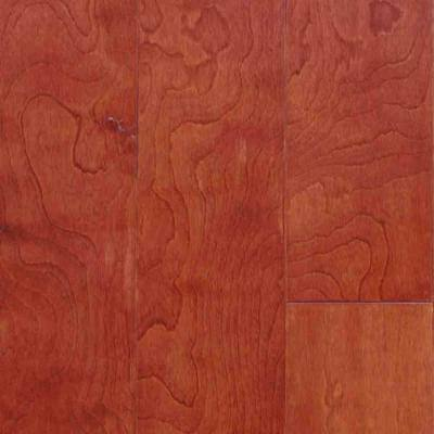 Take Home Sample - Birch Bordeaux Engineered Click Hardwood Flooring - 5 in. x 7 in.