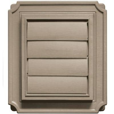 Scalloped Exhaust Siding Vent #095-Clay