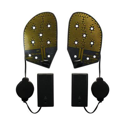 Cozy Feet Heated Shoe Insoles Warms Feet Inside Shoes Toe Warmer