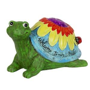 Colorful Garden Turtle Statue
