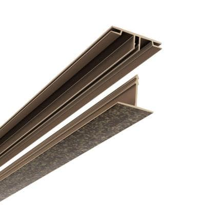 100 sq. ft. Ceiling Grid Kit in Smoked Pewter
