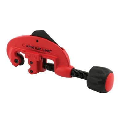 1/8 in. To 1-1/8 in. Diameter Tubing Cutter, Screw Feed, Red