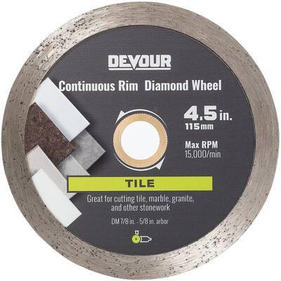 4.5 in. Metal Saw Blade Masonry Segmented Diamond Wheel