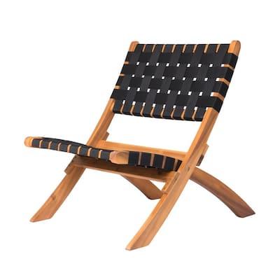 Sava Folding Outdoor Wooden Lounge Chair