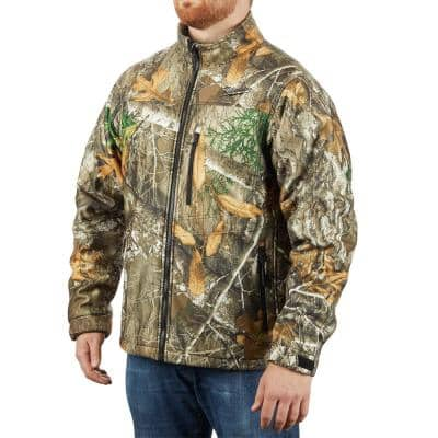 Men's Medium M12 12-Volt Lithium-Ion Cordless Realtree Camo Heated Jacket Kit with (1) 2.0Ah Battery and Charger