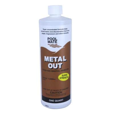 1 qt. Pool Metal Out Stain and Mineral Remover