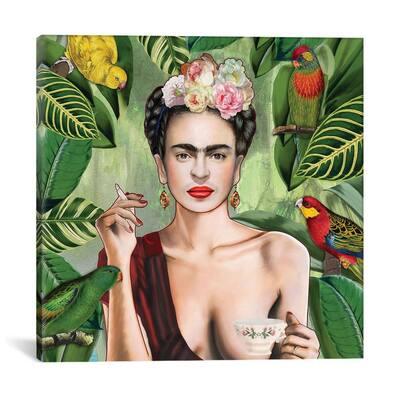 Frida Con Amigos by Nettsch Wall Art