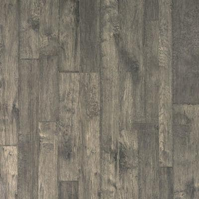 Outlast+ 7.48 in. W Bayshore Grey Hickory Waterproof Laminate Wood Flooring (19.63 sq. ft./case)