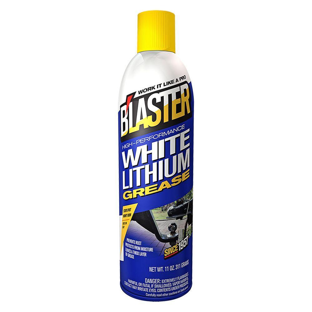 11 oz. High-Performance White Lithium Grease