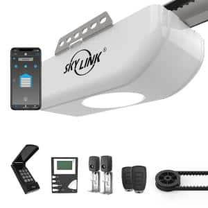 3/4 HPF Belt Drive Garage Door Opener with Extremely Quiet DC Motor and WiFi Connectivity