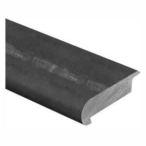 Harvest/Gunstock Oak/Copper Dark 3/8 in. Thick x 2-3/4 in. Wide x 94 in. Length Hardwood Stair Nose Molding Overlap