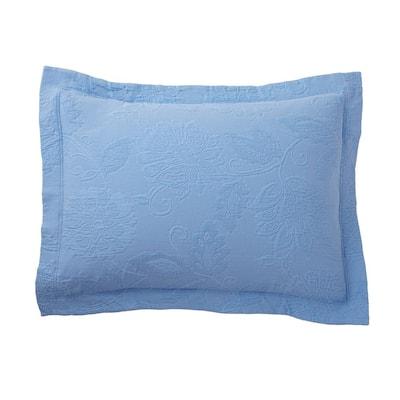 Putnam Matelasse Cornflower Blue Cotton King Sham