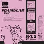 FOAMULAR 150 1-1/2 in. x 4 ft. x 8 ft. R-7.5 Scored Squared Edge Rigid Foam Board Insulation Sheathing