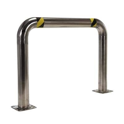 48 in. x 36 in. x 4 in. Stainless Steel High Profile Rack Guard