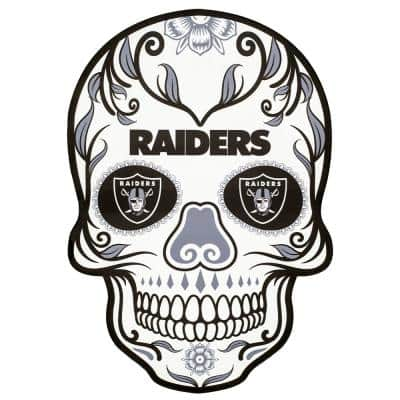 NFL Oakland Raiders Outdoor Skull Graphic- Small