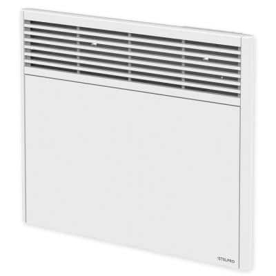 Orleans 18 in. x 17-7/8 in. 500-Watt 240-Volt Forced Air Electric Convectors in White with Built-in Thermostat