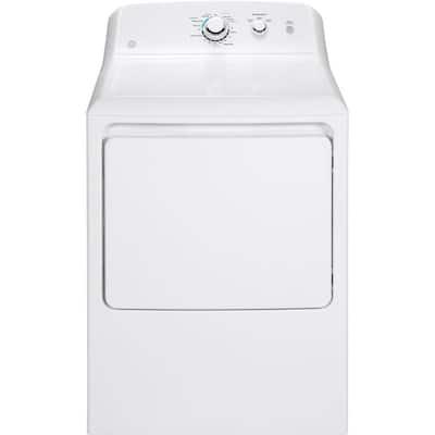 7.2 cu. ft. 120 Volt White Gas Vented Dryer