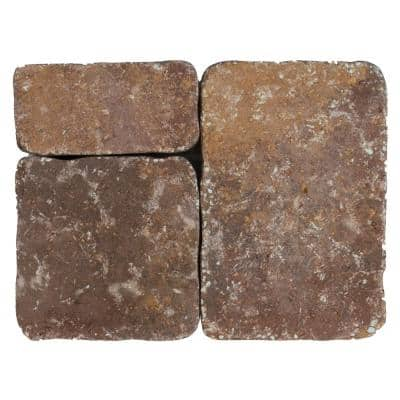 Marseilles 10.5 in. x 7 in. x 2.25 in. Toscana Tan/Brown/Charcoal Concrete Paver (180 Pieces / 87.5 sq. ft. / Pallet)