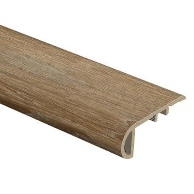 Woodacres Oak/Deerbrook Trail 1 in. Thick x 2-1/2 in. Wide x 94 in. Length Vinyl Stair Nose Molding