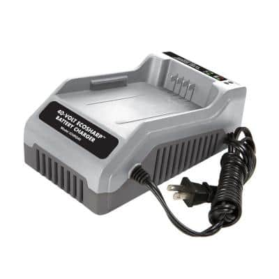 iON 40-Volt EcoSharp Lithium-Ion Charger